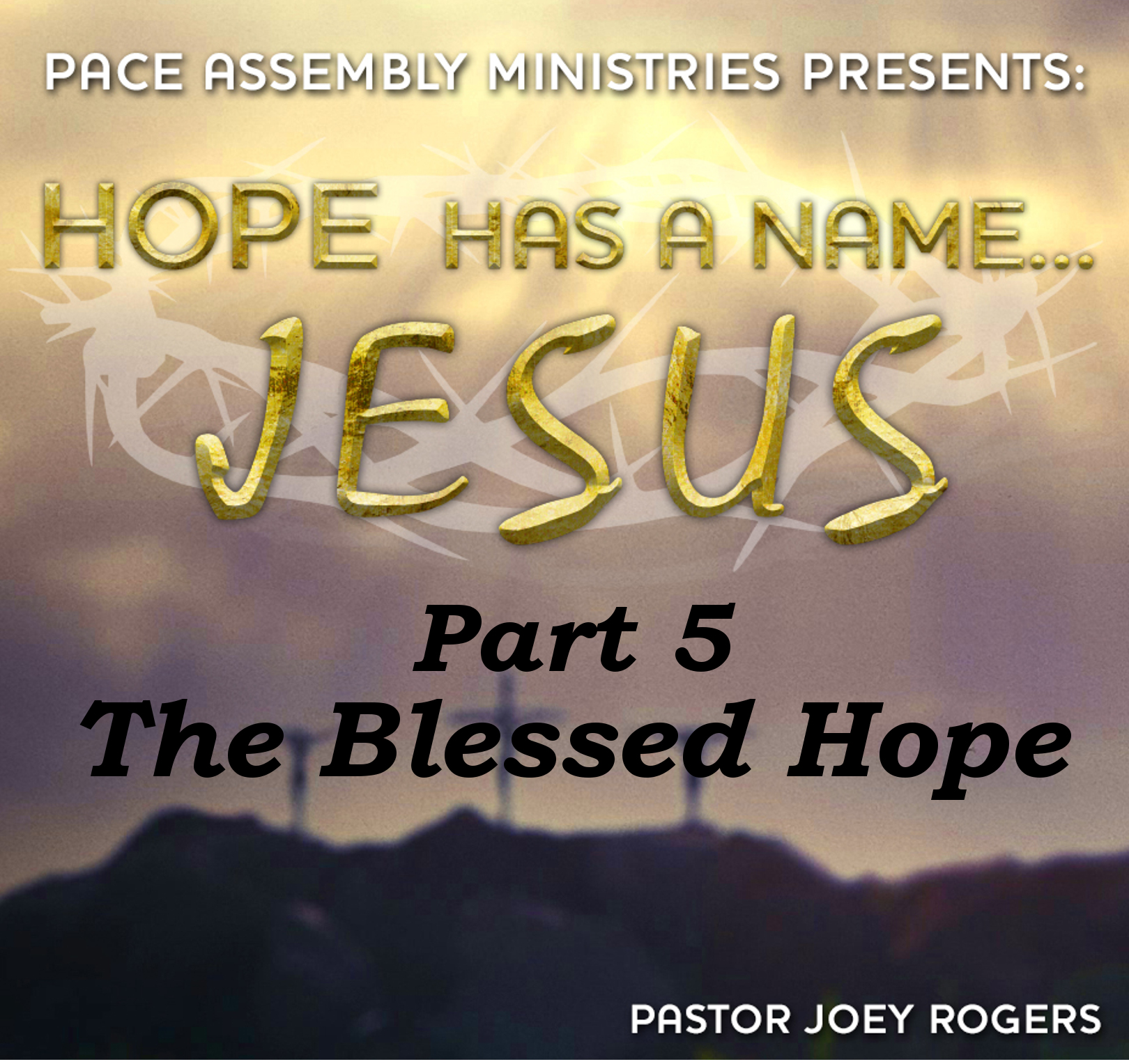 Hope Has a Name... Jesus Part 5 - The Blessed Hope