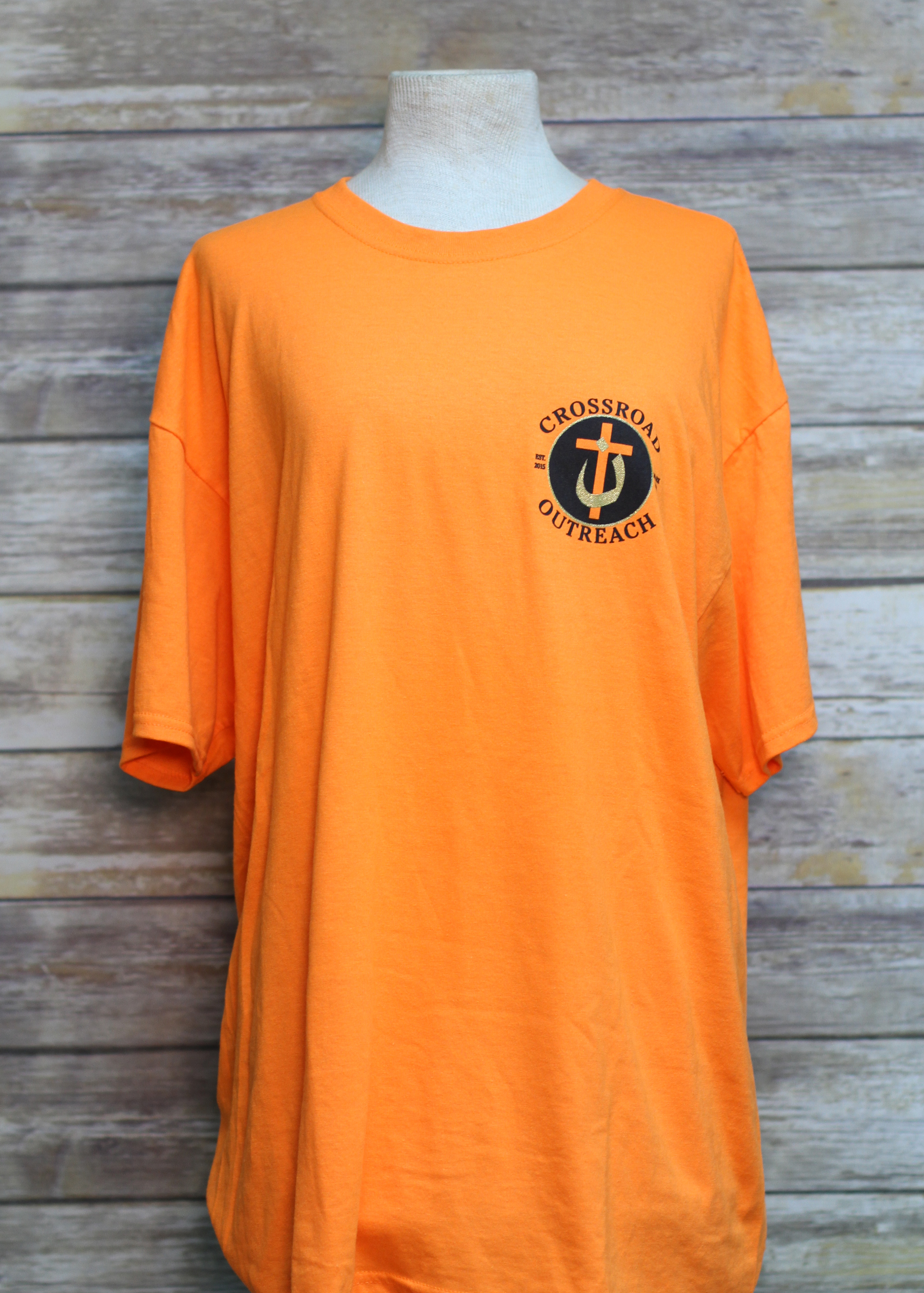 Crossroad Outreach Orange S/S Tee
