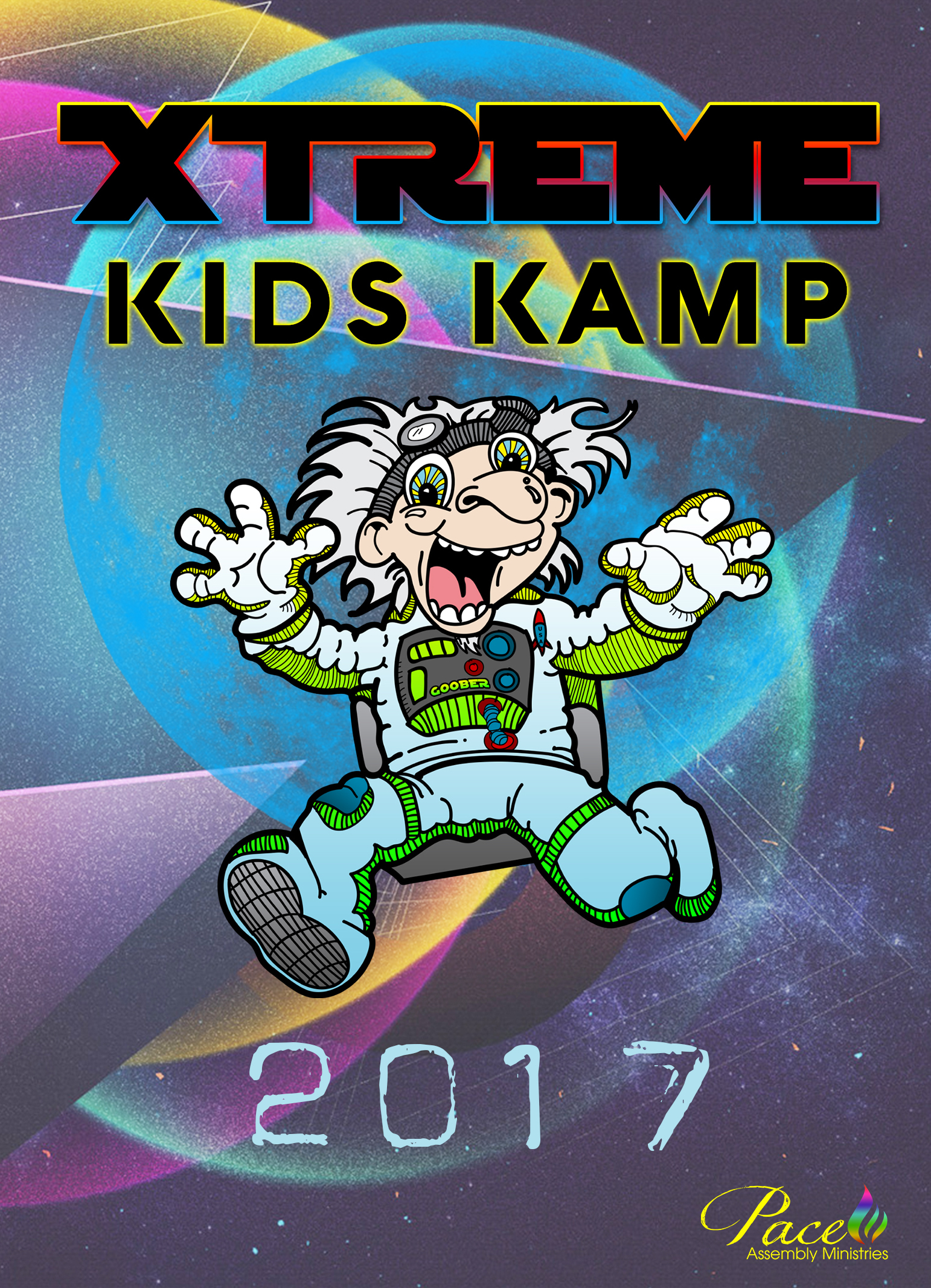 Xtreme Kids Kamp 2017 DVD Set