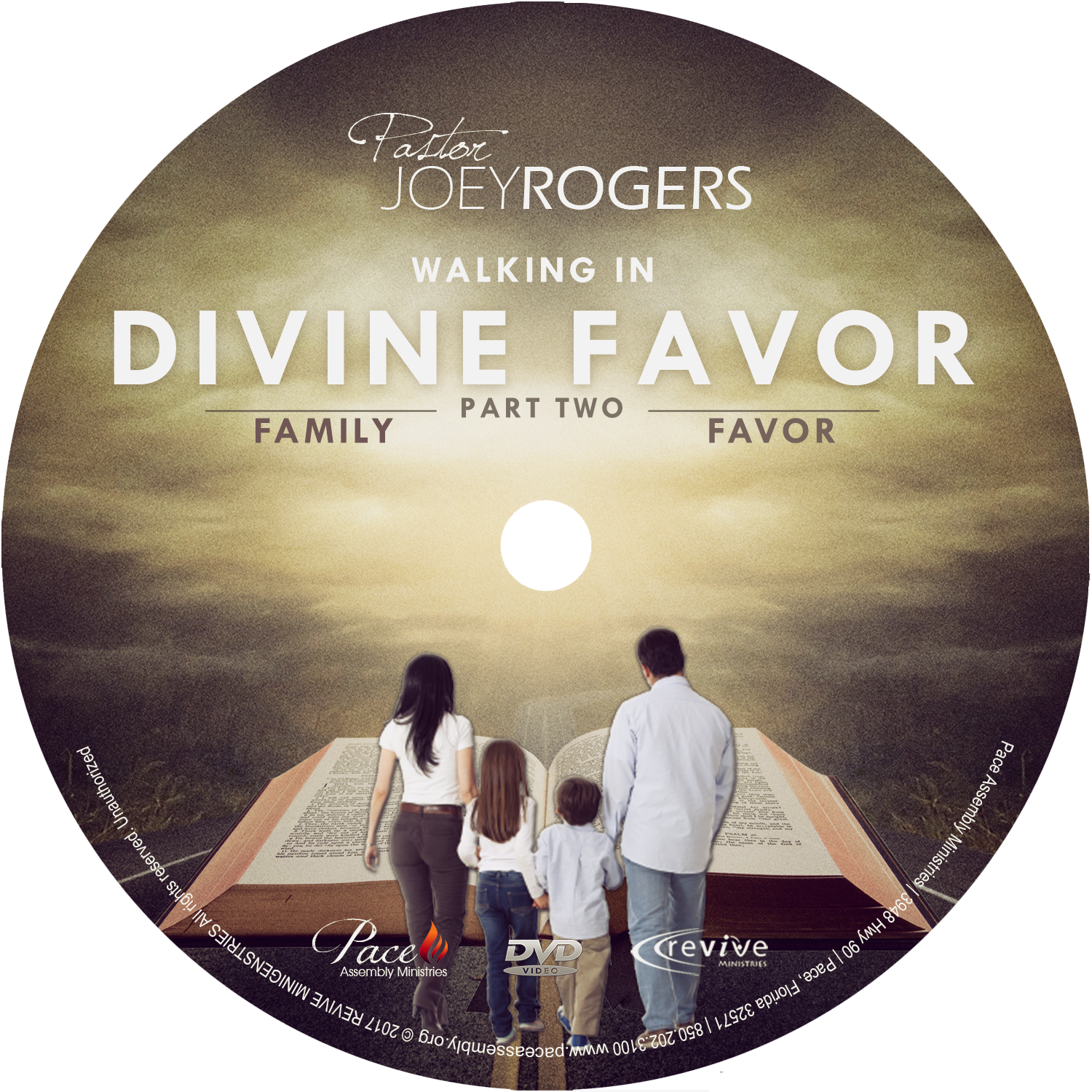 "Walking in Divine Favor PT 2 ""Family Favor"""