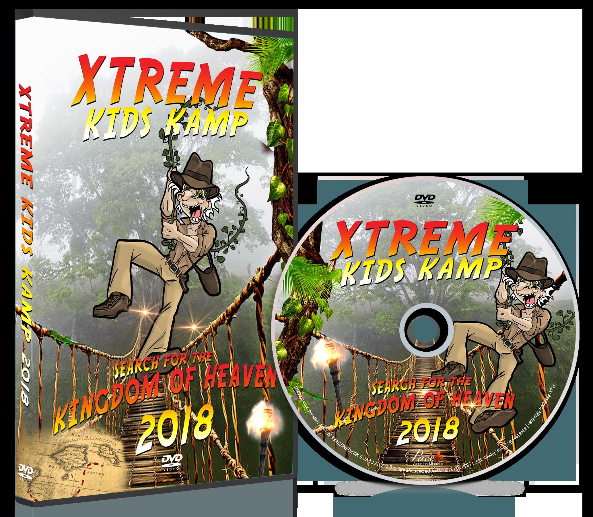 Xtreme Kids Kamp 2018